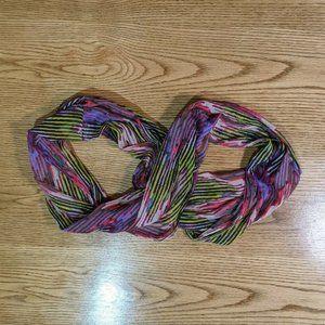 American Eagle Pink Purple Infinity Scarf